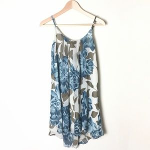 ANTHROPOLOGIE E by Eloise Floral Swing Shift Dress